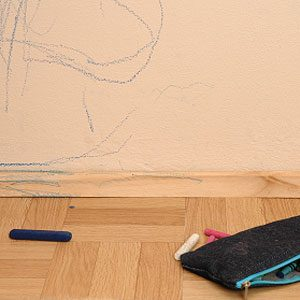 5. DIY Cleaner for Crayon Marks on Walls