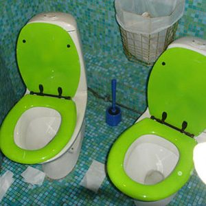 Best toilets in the world #5: Now You Can Share Everything!