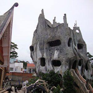 5. Crazy House Dalat, Vietnam