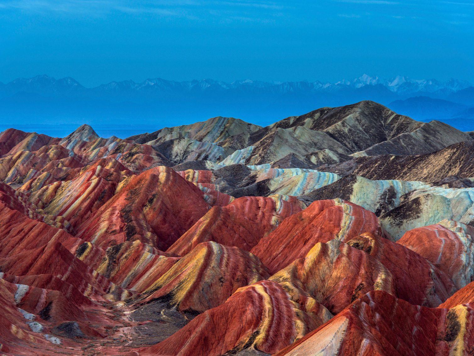 Natural Wonder of China: Danxia landform