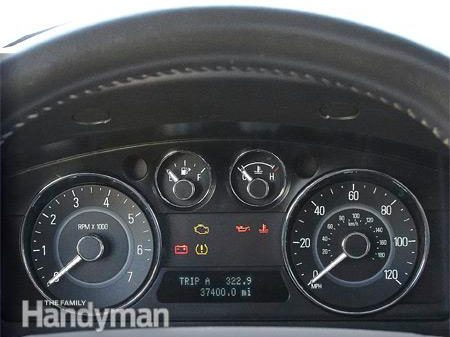 What to do if a Dashboard Warning Light Comes On