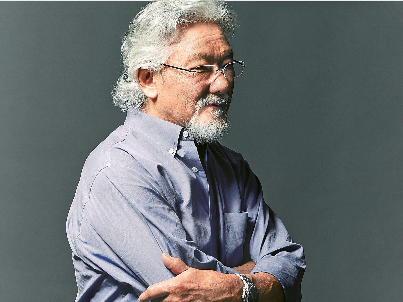 1. David Suzuki