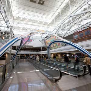 8. Denver International Airport, Colorado