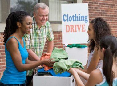Donate Unused Clothing