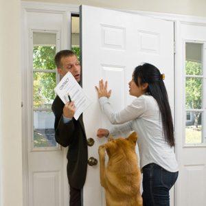 10. Be Wary Of The Door-To-Door Sales