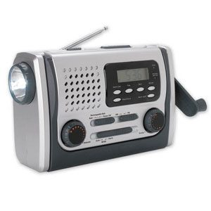 Dynamo Radio with Light