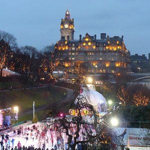 Shake up Tradition in Edinburgh, Scotland