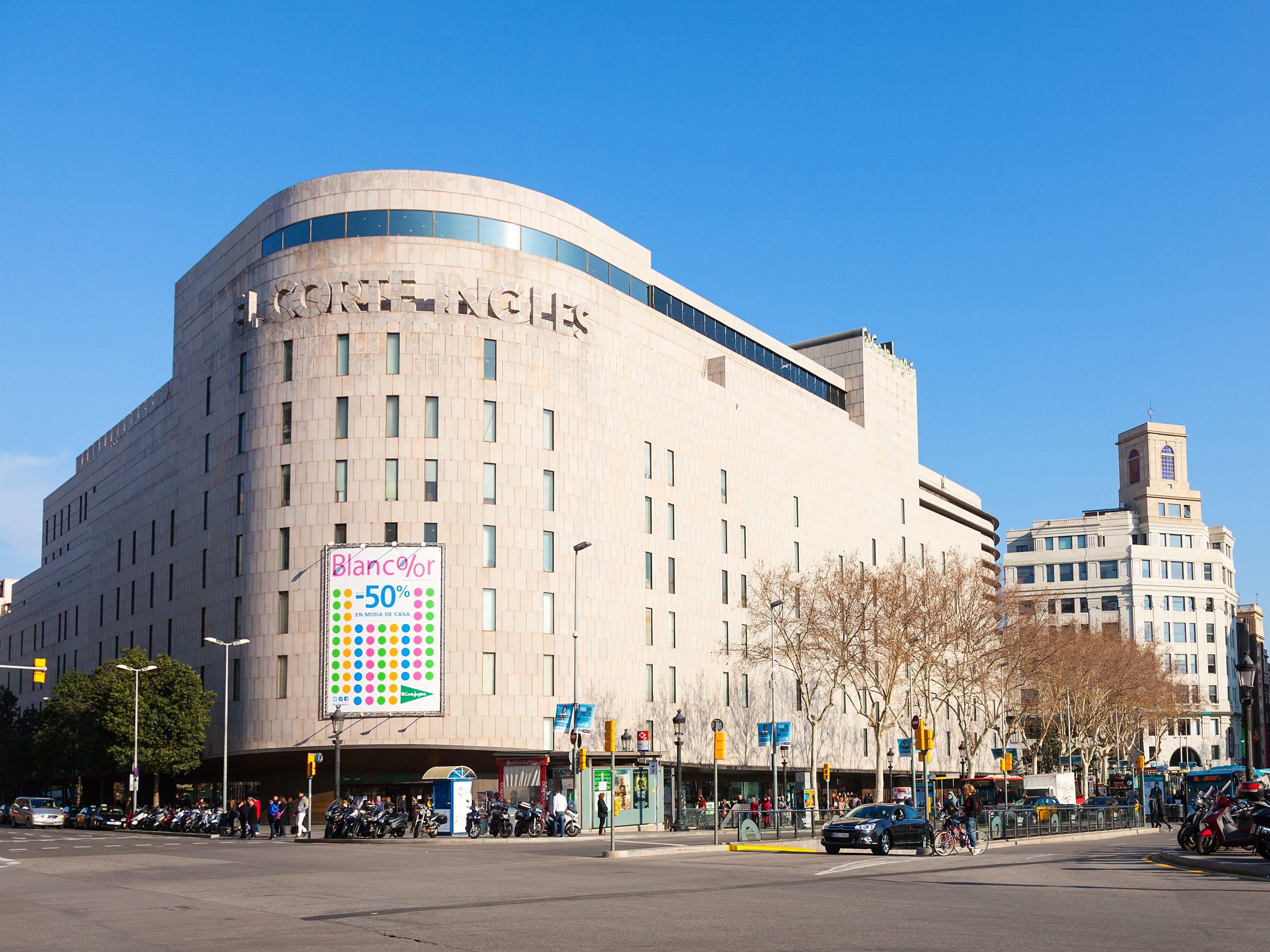 10. El Corte Ingles, Lisbon, Madrid and Barcelona