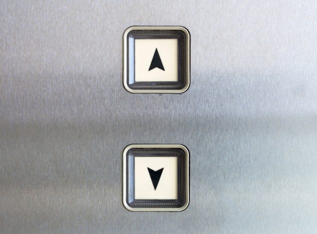 How to Take the Elevator Without Pushing People's Buttons