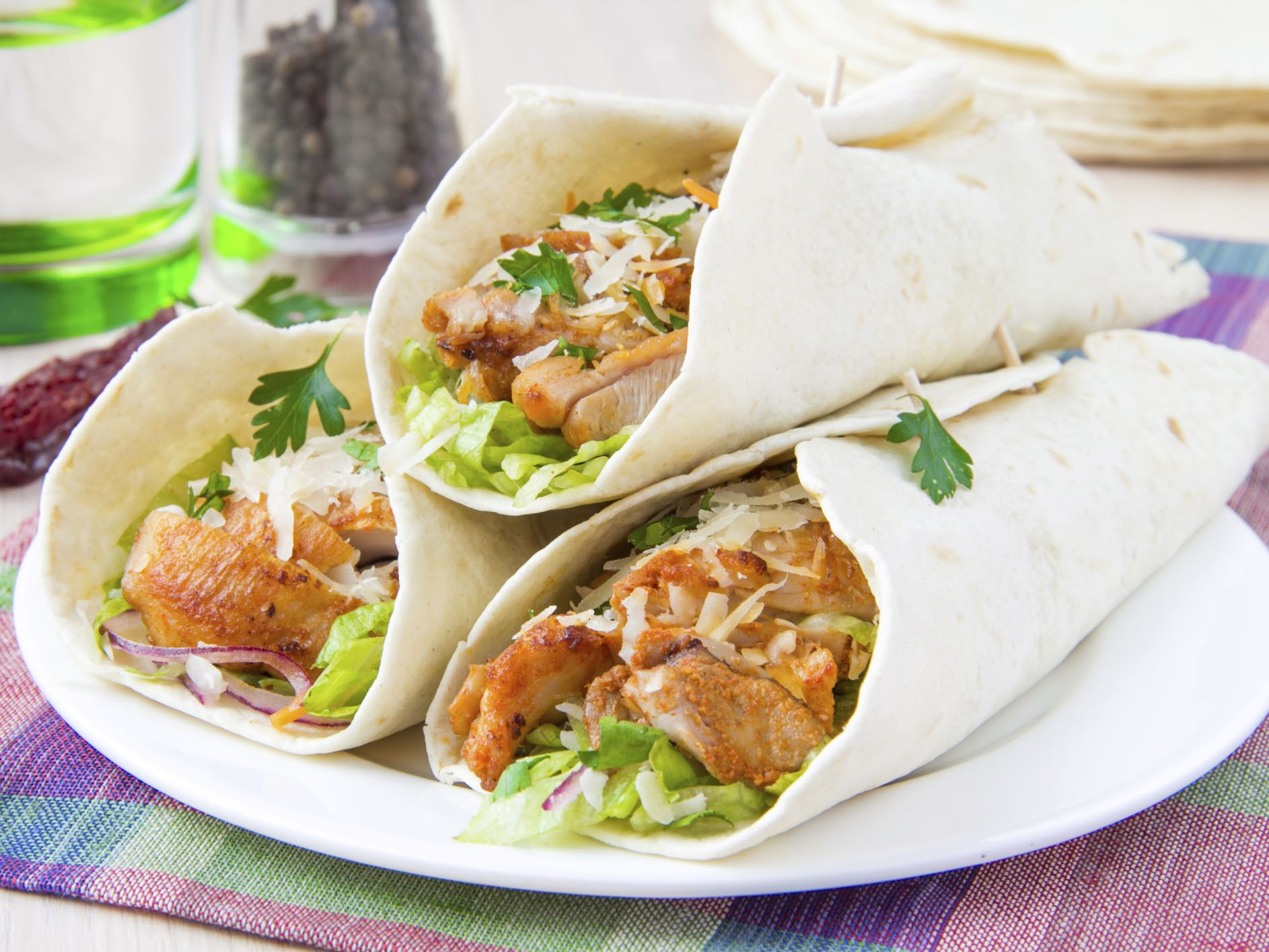 Recipe: Chicken Fajitas with Goat's Cheese