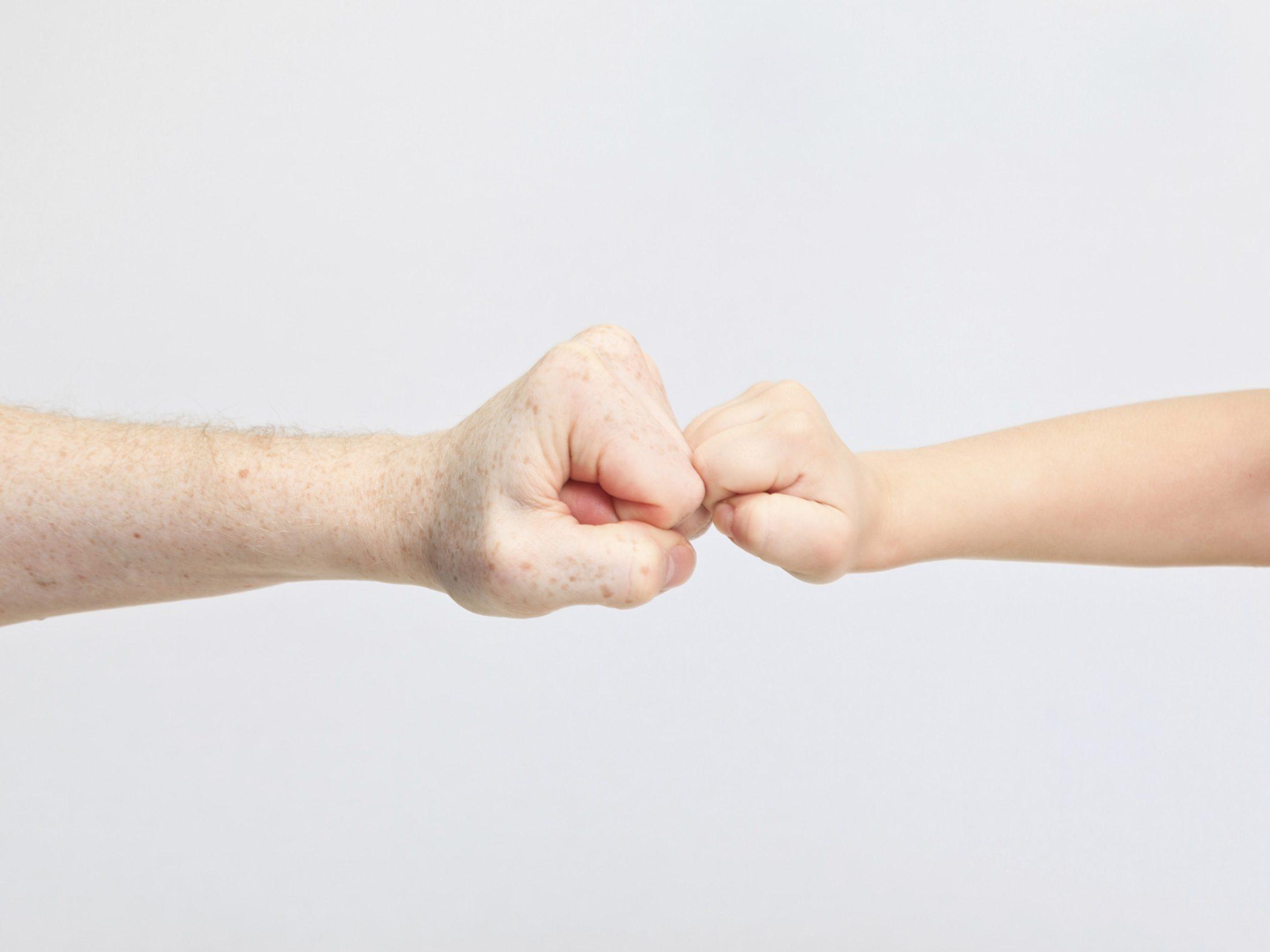 Encourage the Fist Bump