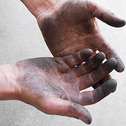 Ways to use sugar: Clean Greasy, Grimy Hands