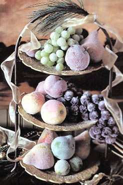 Frosted Fruit Arrangement