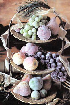 Frosted Fruit Arrangement