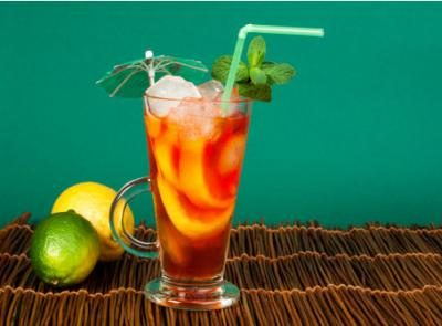 Sparkling Fruity Green Tea