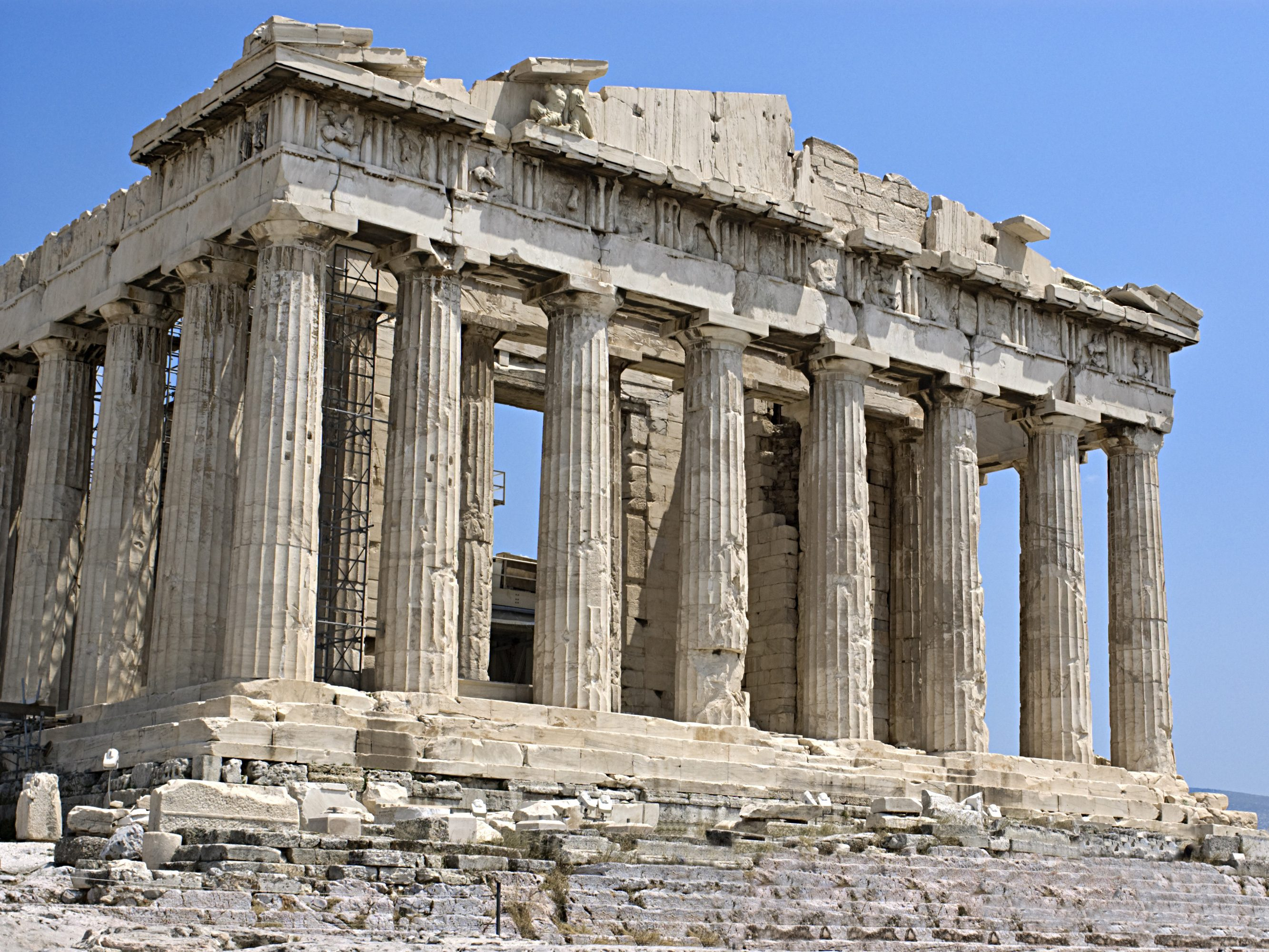 Amazing Construction of the Antiquity: The Parthenon - Greece
