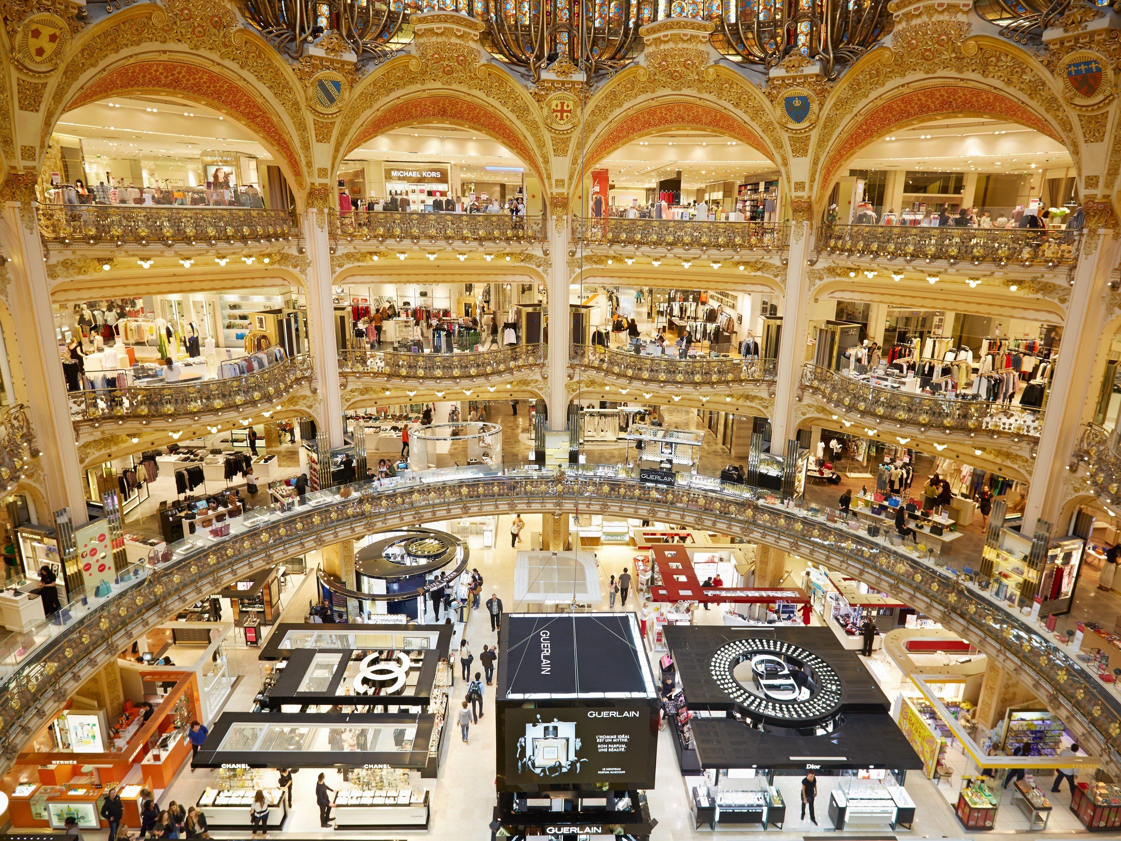 1. Galeries Lafayette, Paris