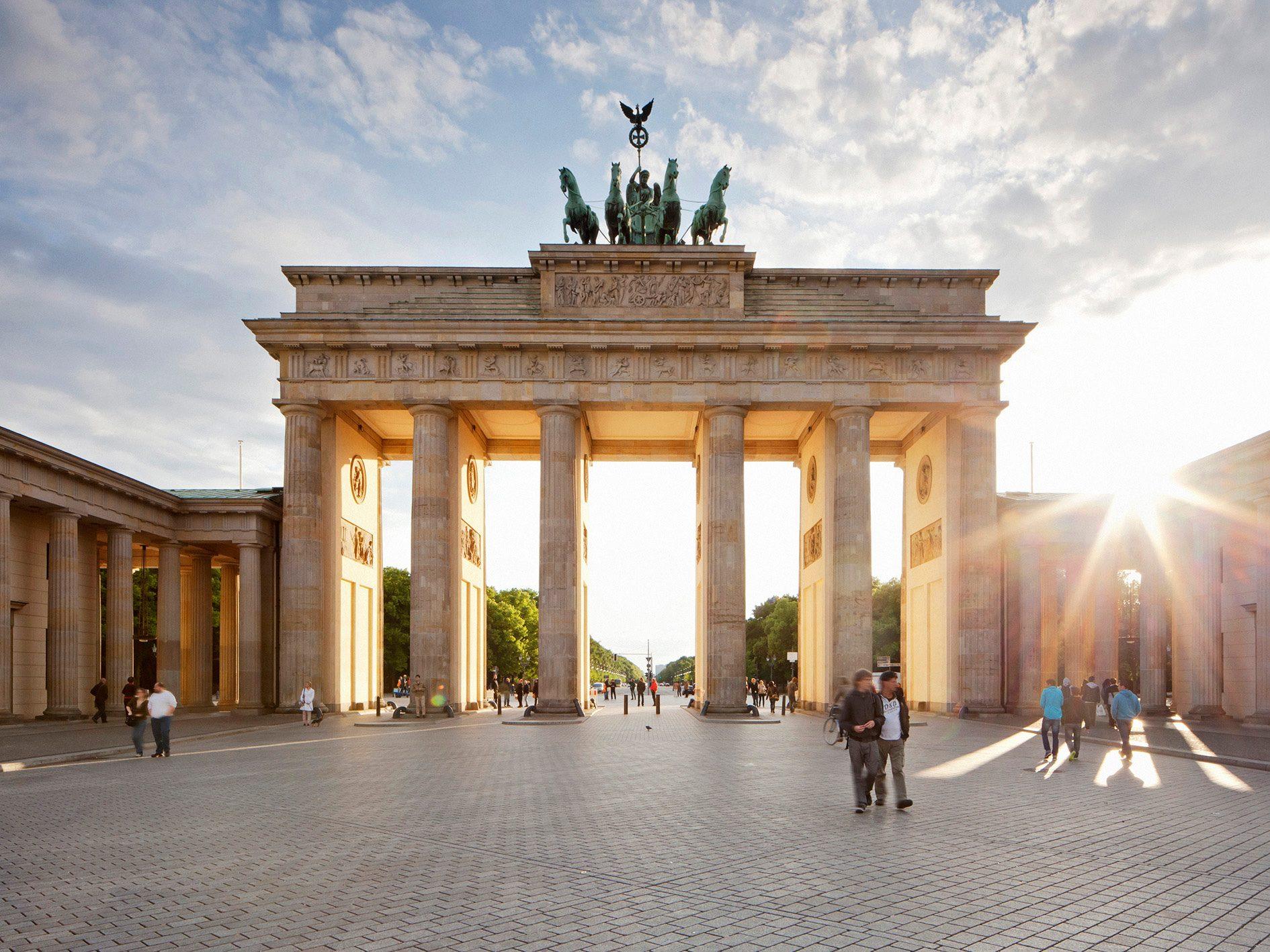 A Passageway to History: Brandenburg Gate