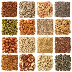 3. Nuts, Seeds, Wheat Germ, and Vitamin E