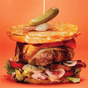 Great Canadian Burgers: Au Pied de Cochon Foie Gras Burger