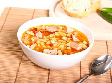 Ham and Fava Bean Soup