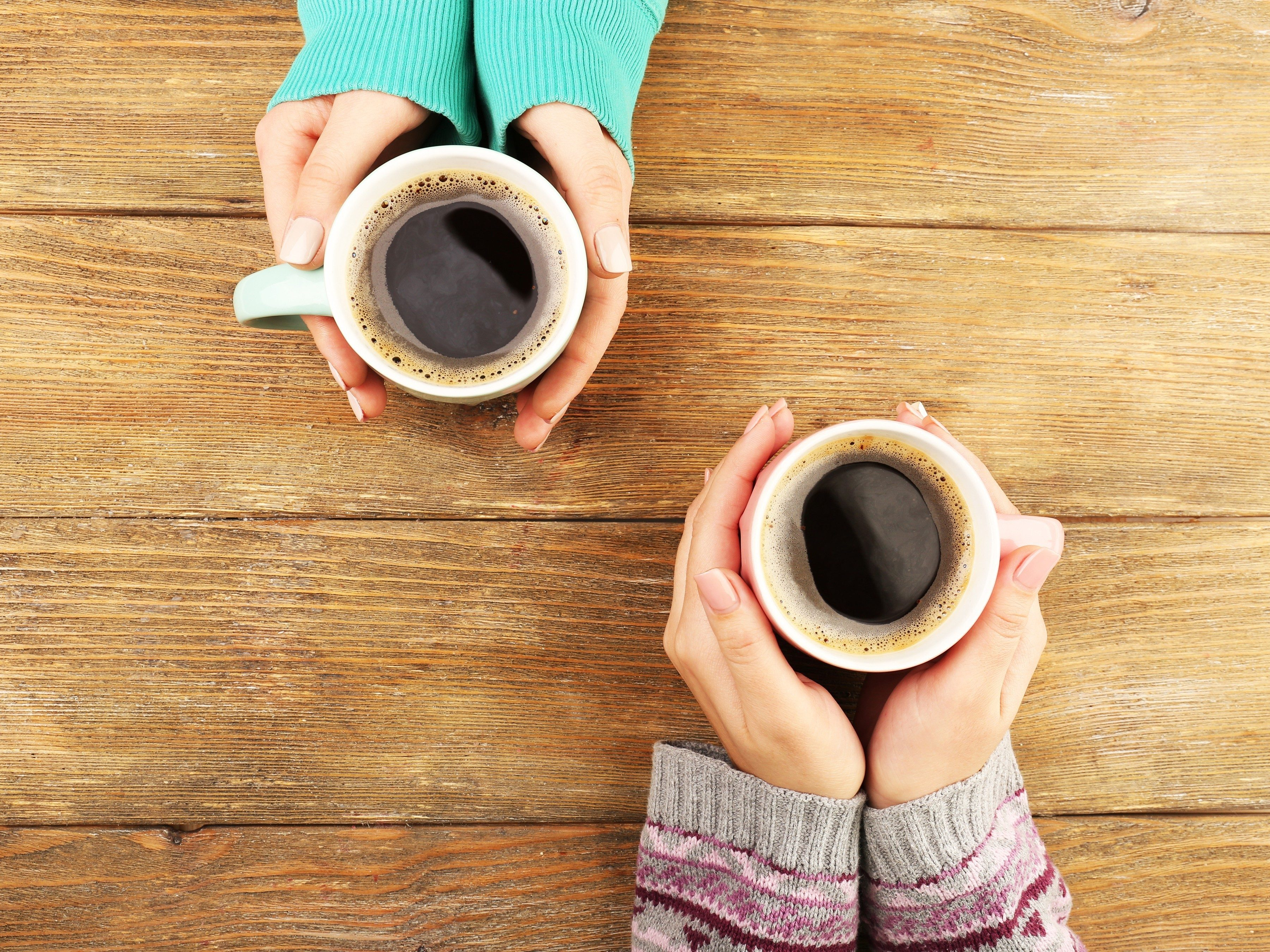 1. Get a better sleep by reducing your caffeine intake
