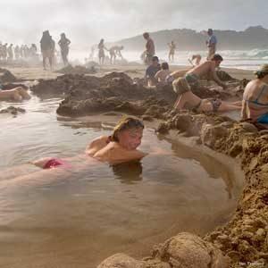 1. Hot Water Beach, New Zealand