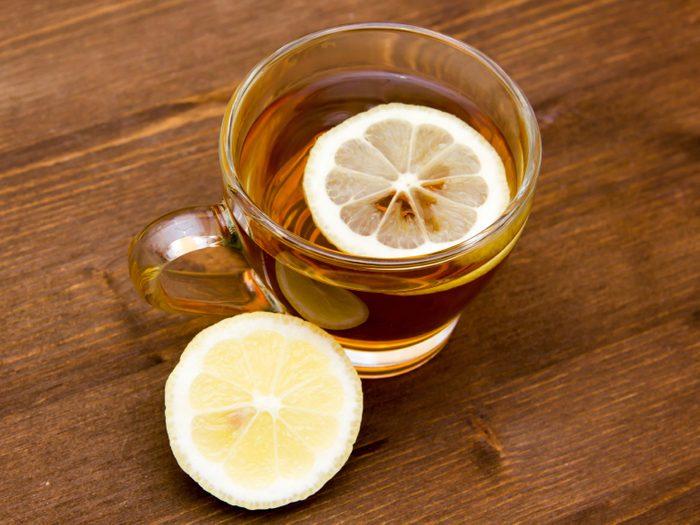 Fridge Stink? Steam with Hot Lemon Water