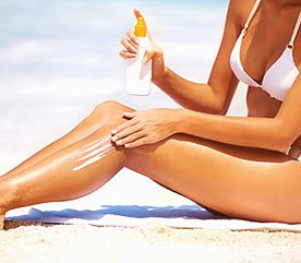 Slather on Sunscreen