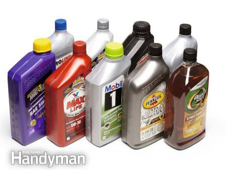 Choosing the right engine oil and oil filter