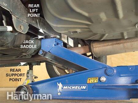 How to Jack and Support a Car: Step 4