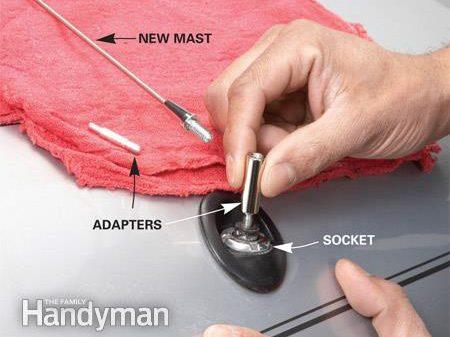 How to Repair Fixed-Mast Antennas