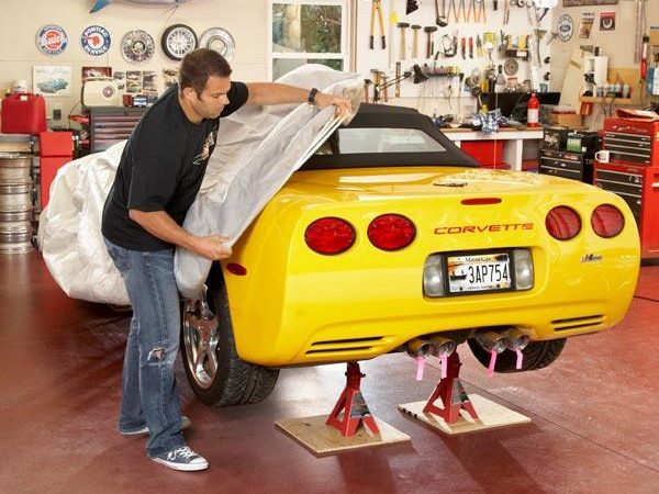 Winter Car Storage Step 1: Perform Car Care