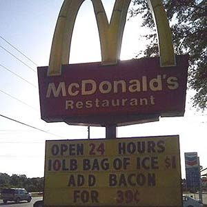 Bacon on Ice