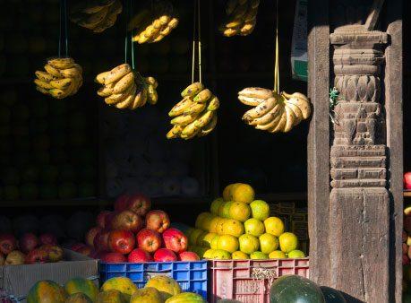 Healthy Bananas: India
