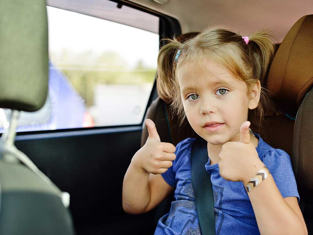 2. You need to install a child car seat properly