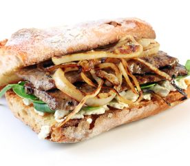 Recipe: Gourmet Steak Sandwich