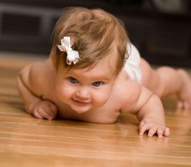 4. Place Small Children on the Floor Once a Day