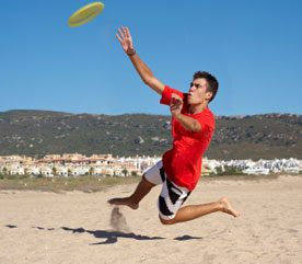 3. Play Frisbee as a Family