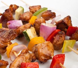 Recipe: Turkey Kebabs with Fennel and Red Pepper Relish