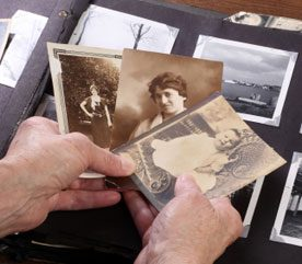 8. Take the Focus Off Food with a Project: Organizing Family Photos