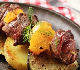Recipe: Beef and Potato Kebabs