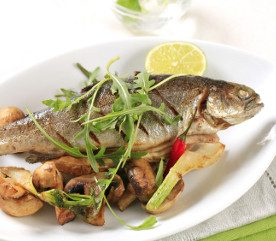 Recipe: Trout Cooked in Newspaper
