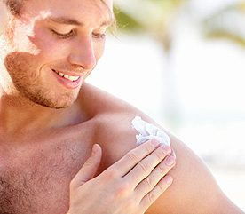 3. Men Skip Out on Sun Protection