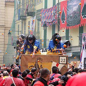 2. Carnival of Ivrea, Italy
