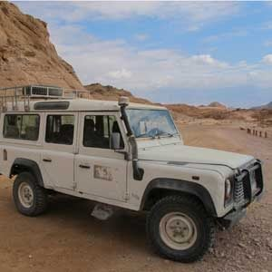 10. Jeep into Timna National Park
