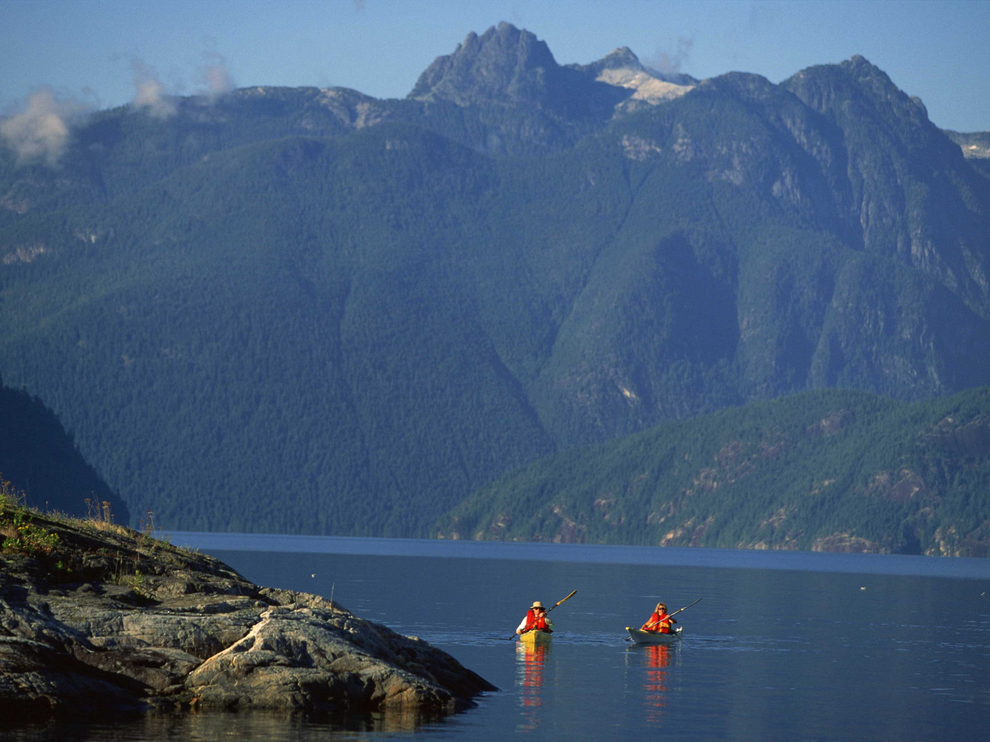 First Nations Interpretive Paddle - Sunshine Coast, B.C.