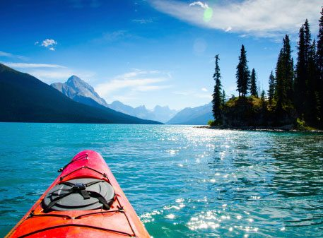 Cottagers Prefer Kayaks Over a Canoes