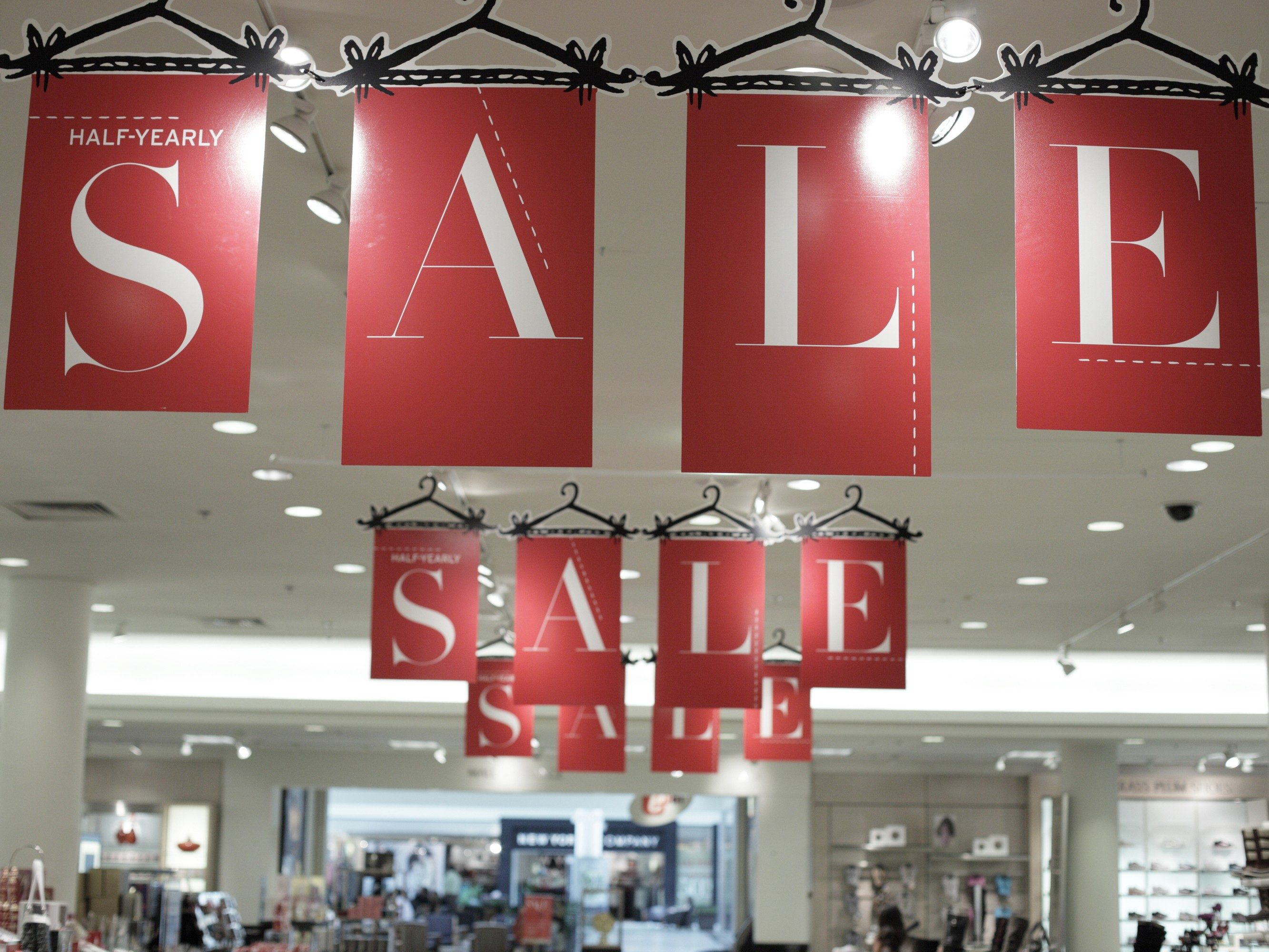 3. Keep an eye on sales.