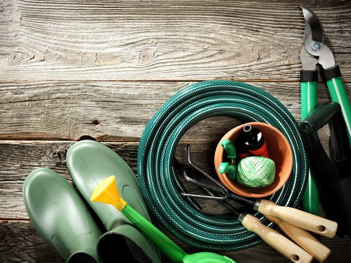 3. Keep Garden Tools Handy